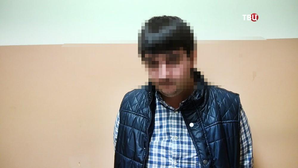Задержанный за избиения врача скорой помощи