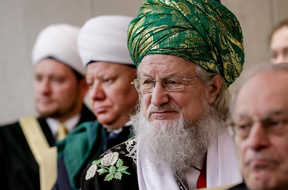 Председатель Центрального духовного управления мусульман Талгат Таджутдин
