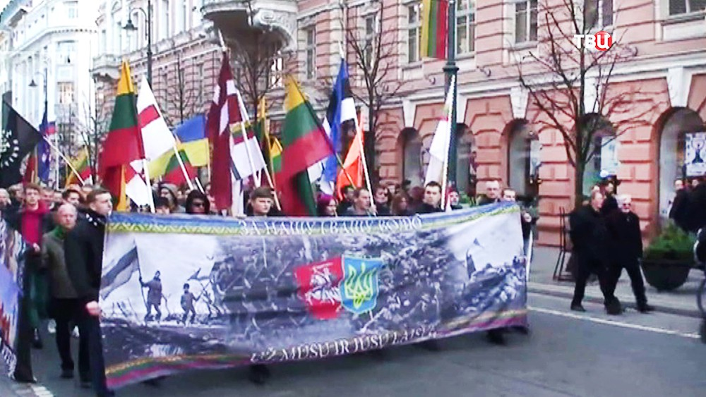 Марш литовских радикалов