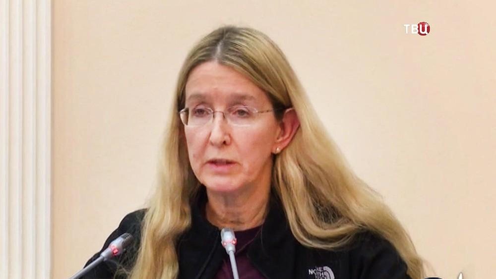 Министр здравоохранения Украины Ульяна Супрун