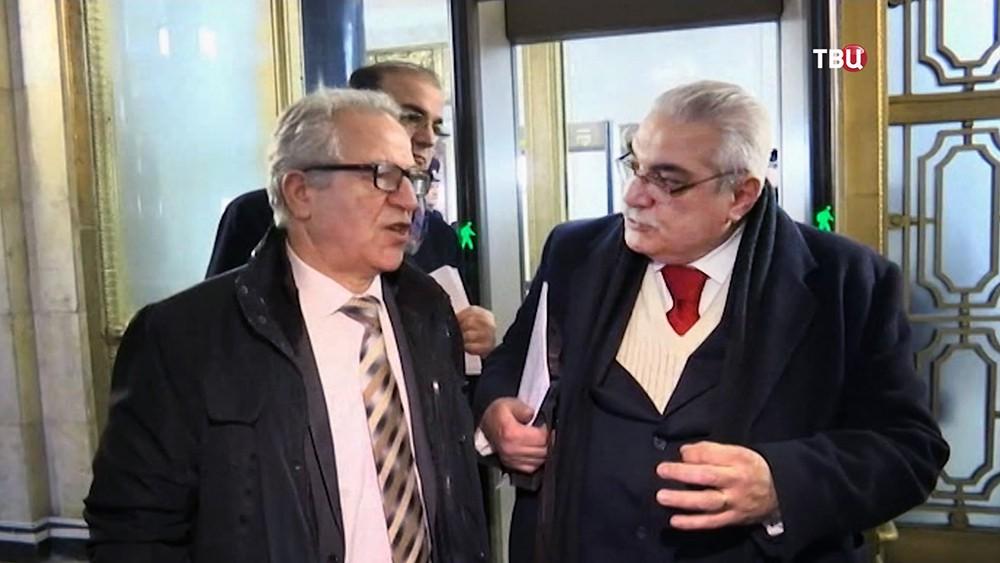 Представители Сирийской оппозиции