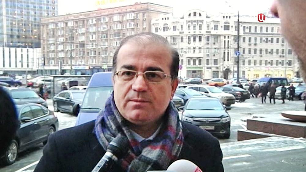 Представители Сирийской оппозиции Абд Салам Али