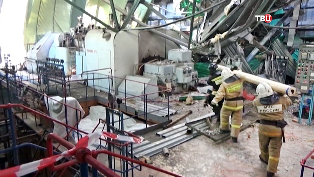Устранение аварии на ТЭЦ в Пензе