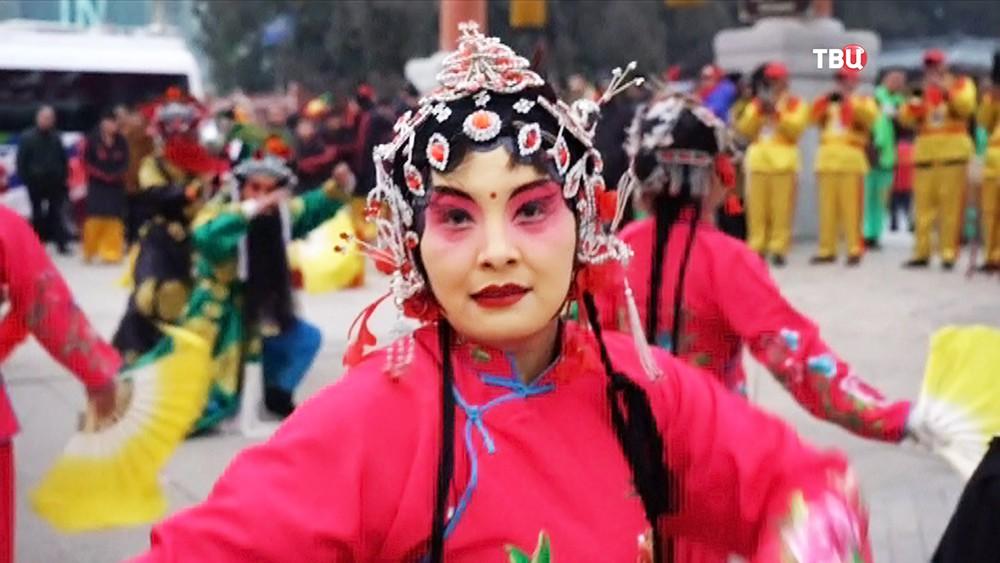 В Китае отмечают Новый год