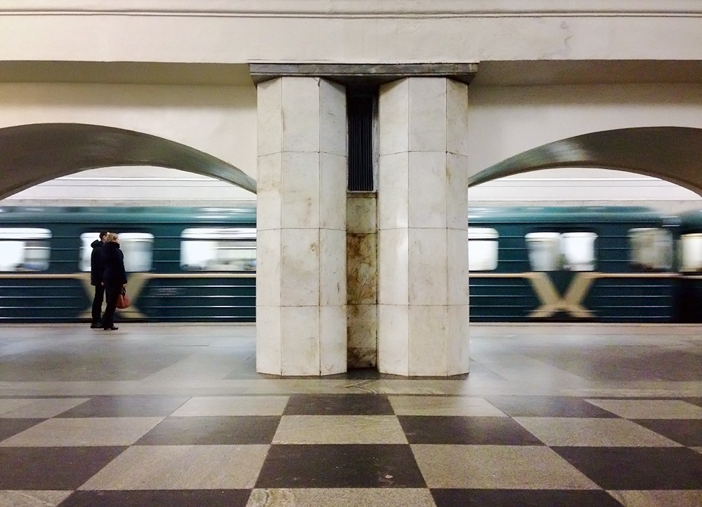 Выход со станции