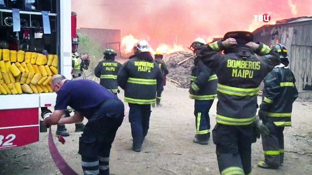 Пожарные Чили