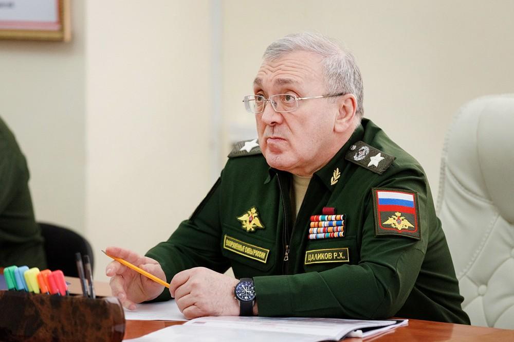 Первый замминистра обороны РФ Руслан Цаликов