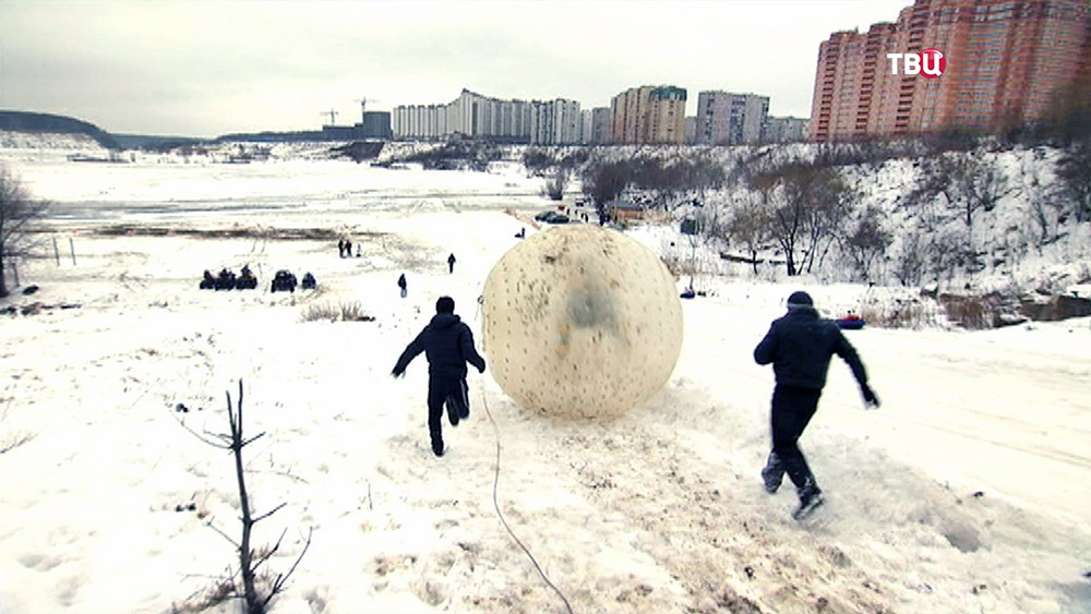 Москвичи осваивают экзотические зимние виды спорта