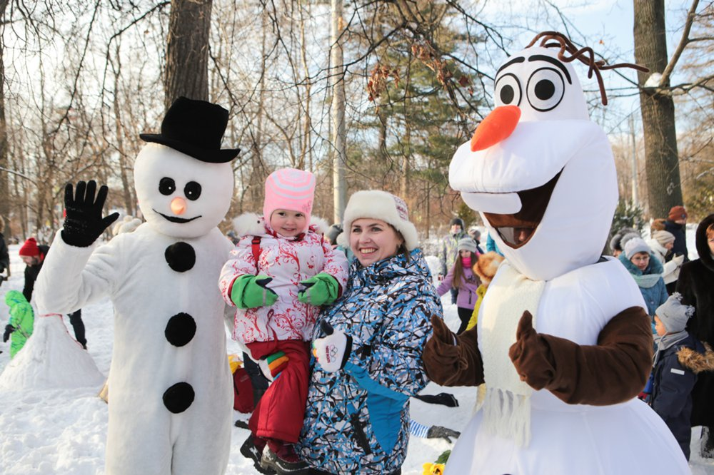 """Семейный фестиваль в парке """"Сокольники"""""""