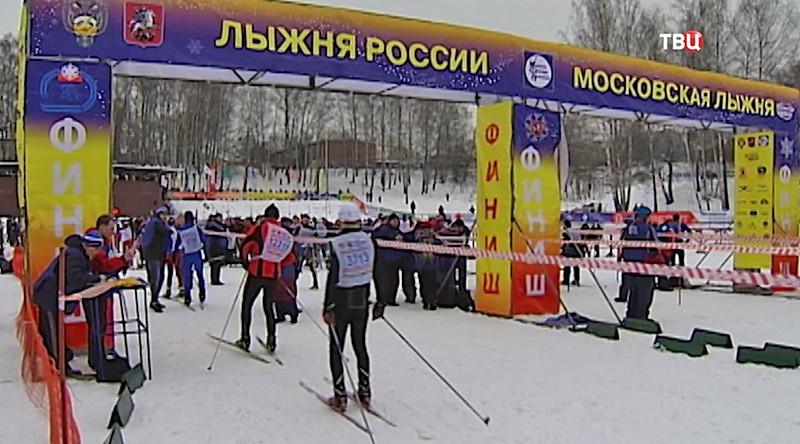 """Соревнования """"Московская лыжня – 2017"""""""