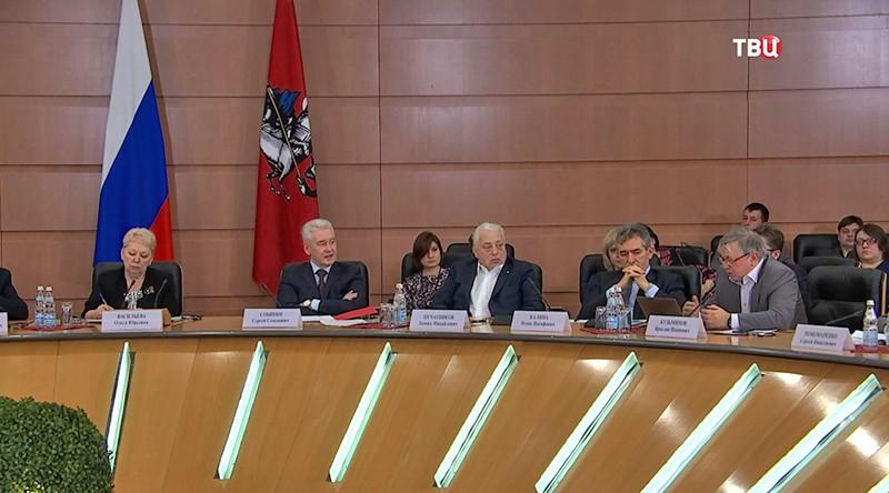 Сергей Собянин на Международной конференции по результатам исследований качества образования