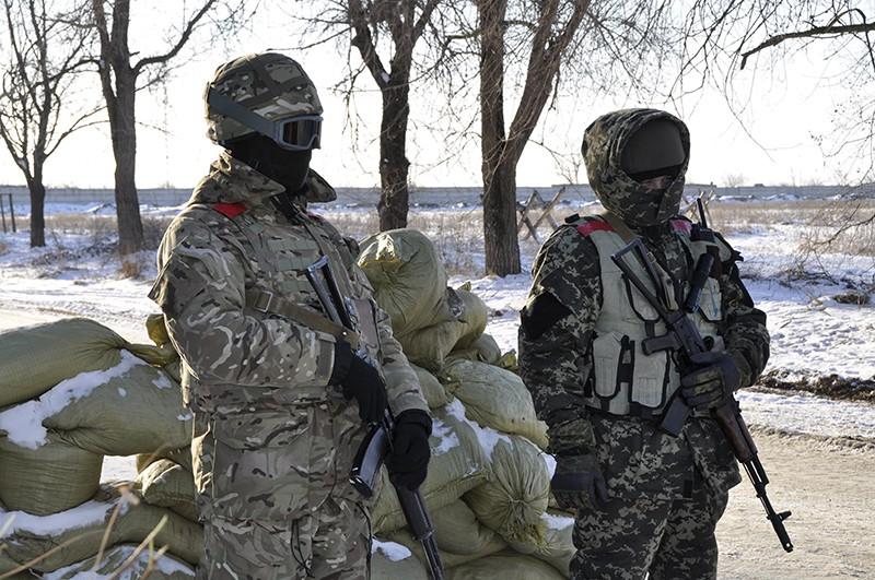 Война на юго-востоке Украины. Позиция украинских войск