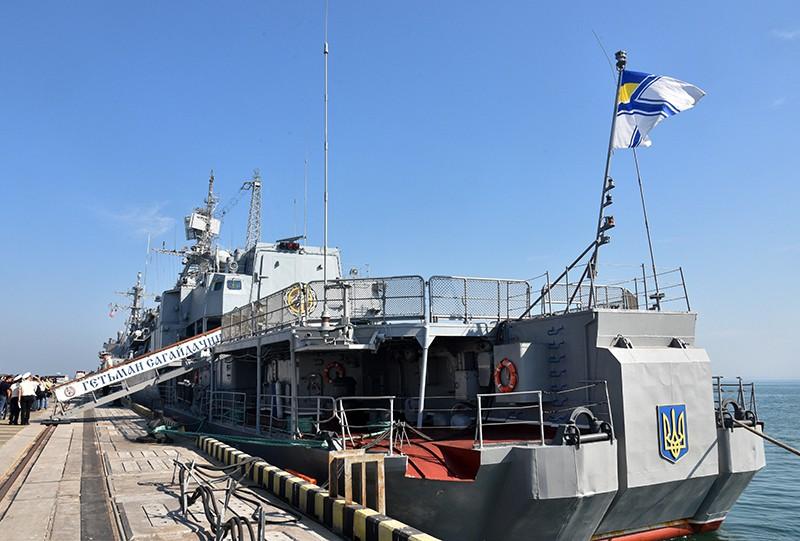 "Фрегат ""Гетман Сагайдачный"" ВМС Украины"