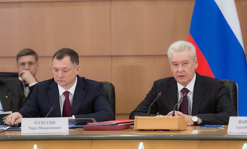 Заседание коллегии Стройкомплекса