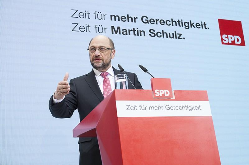 Кандидат в канцлеры Германии Мартин Шульц
