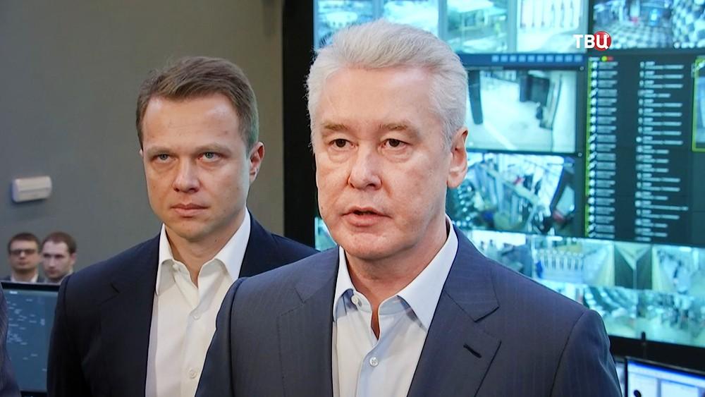 Сергей Собянин и Максим Ликсутов