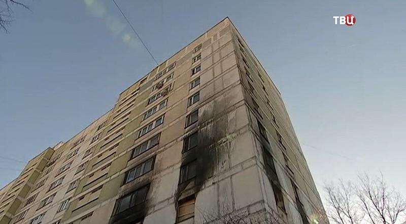 Последствия пожара в Москве