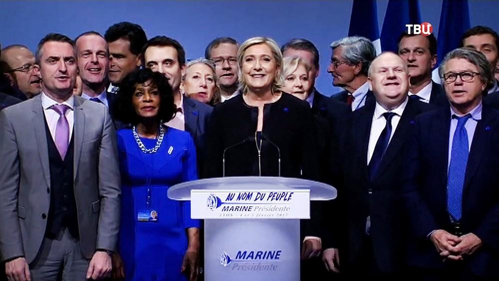 Партия Марин Ле Пен