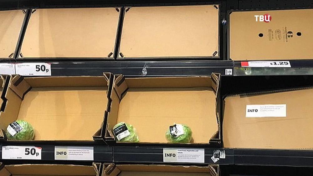 Нехватка овощей в Европе