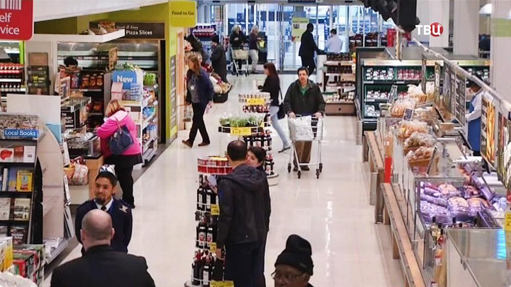 Супермаркет в Европе