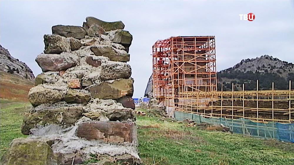 Реставрация Генуэзской крепости в Крыму