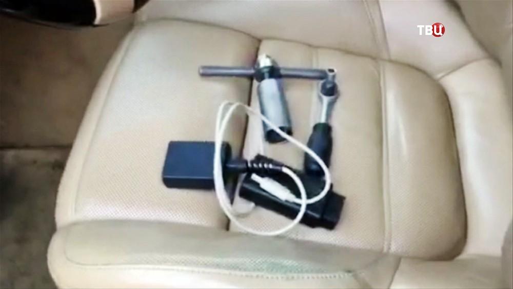 Инструменты для угона автомобилей