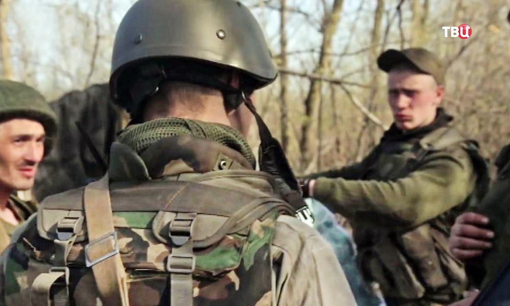 Ополченецы ДНР