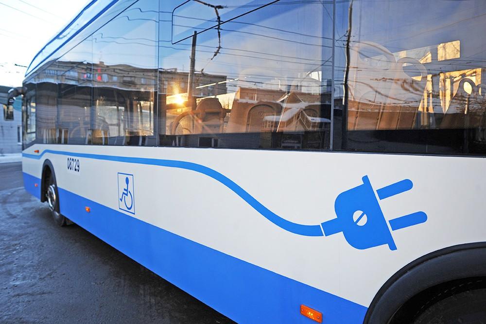 Электробус ЛиАЗ