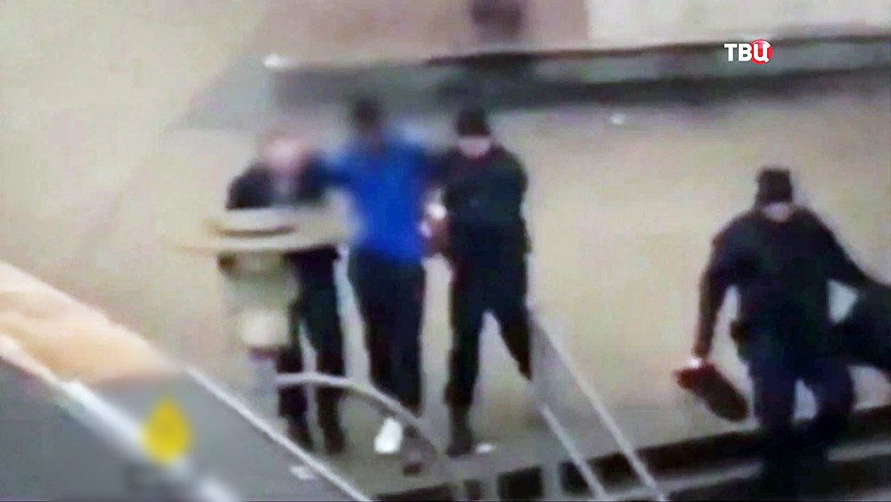 Задержание француза марокканского происхождения по имени Тео