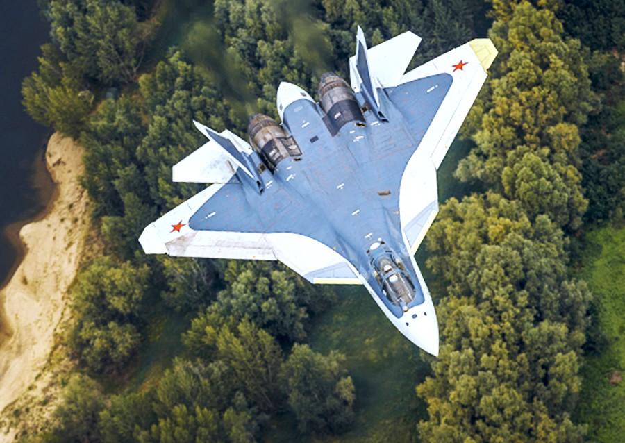 Истребитель ПАК ФА (Т-50)