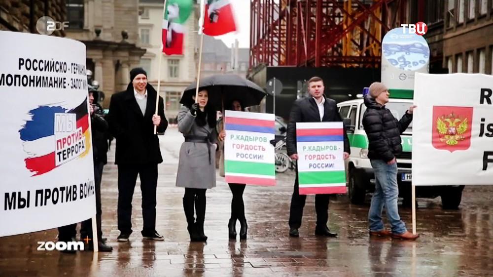 """Кадры фильма телеканала ZDF про """"агентов Кремля"""""""