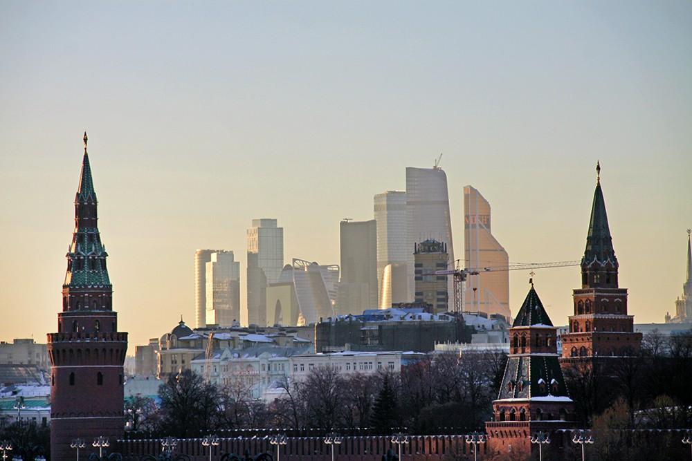 Небоскребы Москва-Сити
