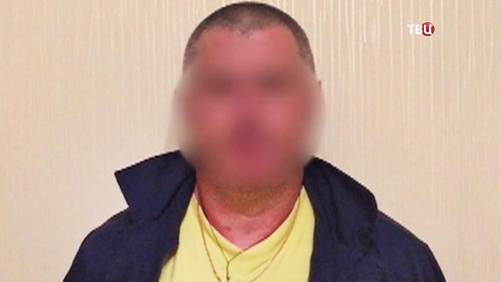 Задержанный участник наркосиндиката