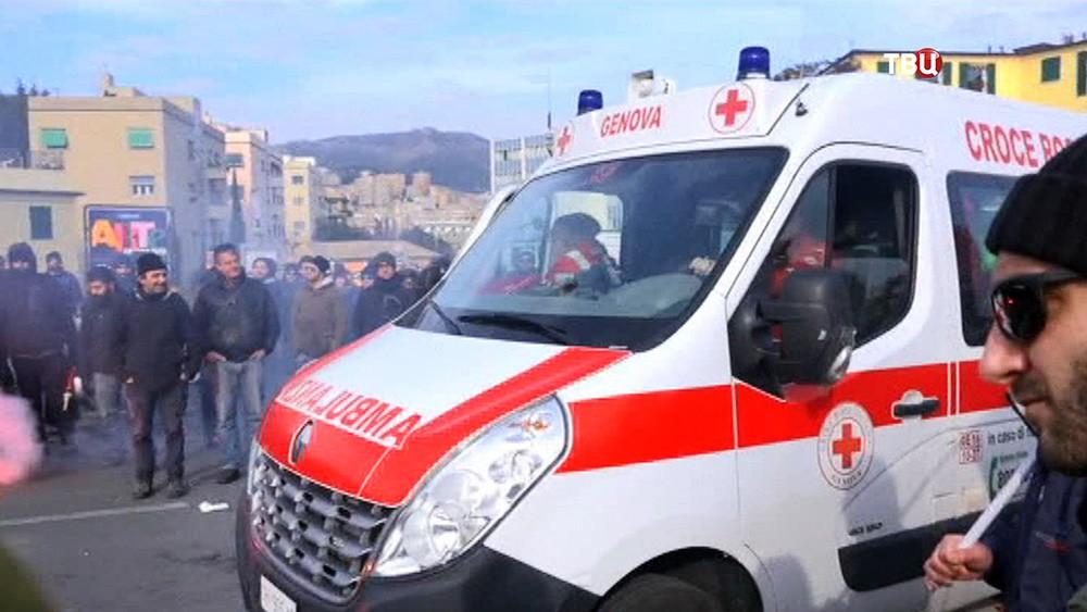 Скорая помощь в Италии