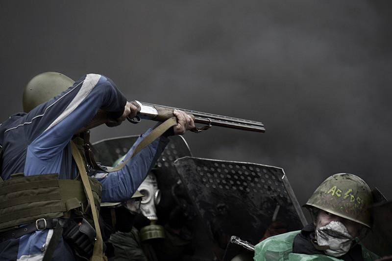 Беспорядки в Киеве. Февраль 2014 г.