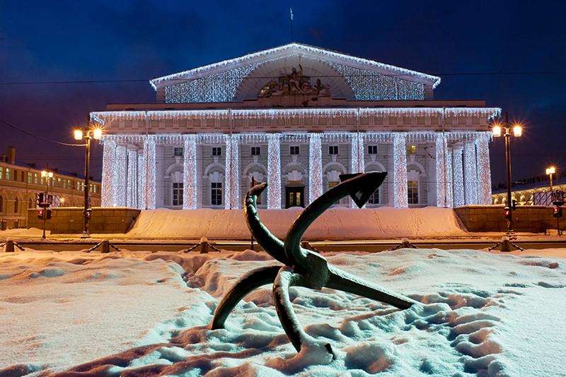 Здание Биржи в Санкт-Петербурге