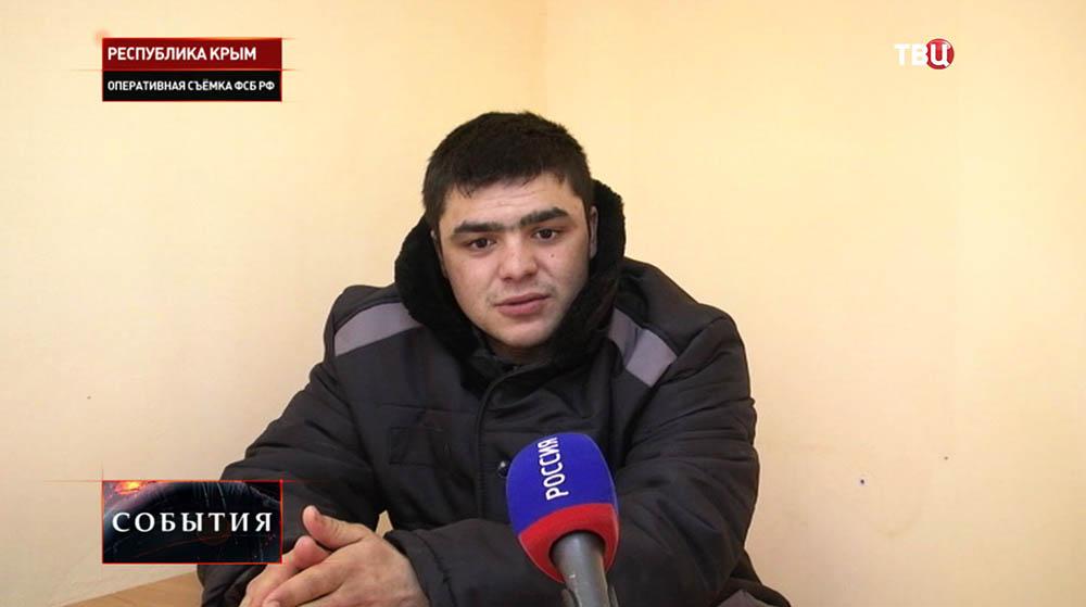 Украинский диверсант Сеит-Ибраим Зайтуллаев
