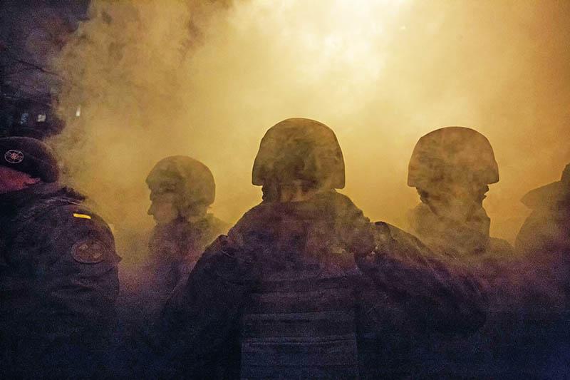 Перестрелка в Харьков