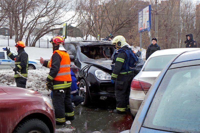 ДТП на Мосфильмовской улице