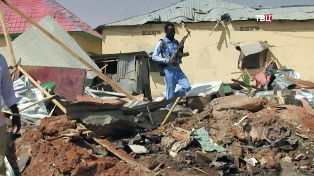 Последствия теракта в Сомали