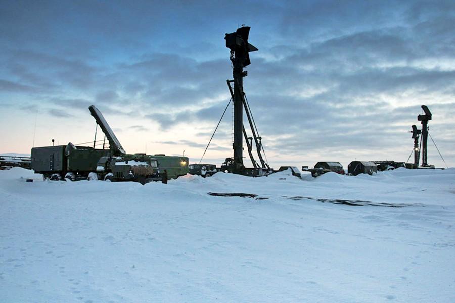 Развернутая система ПВО в Арктике
