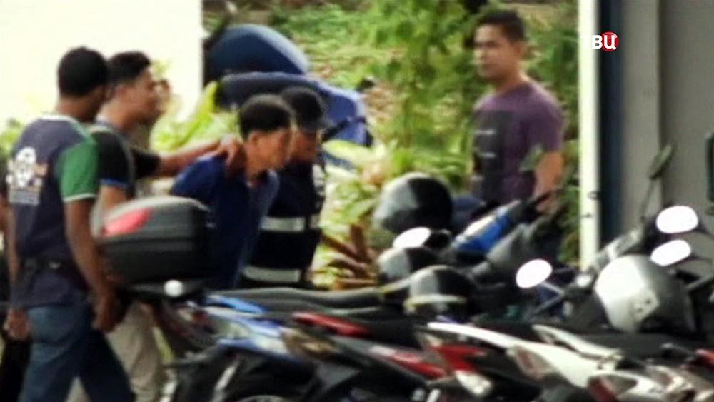 Задержанный по делу об убийстве Ким Чен Нама