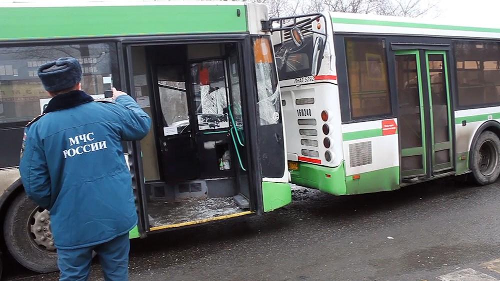 Последствия ДТП с участием автобусов