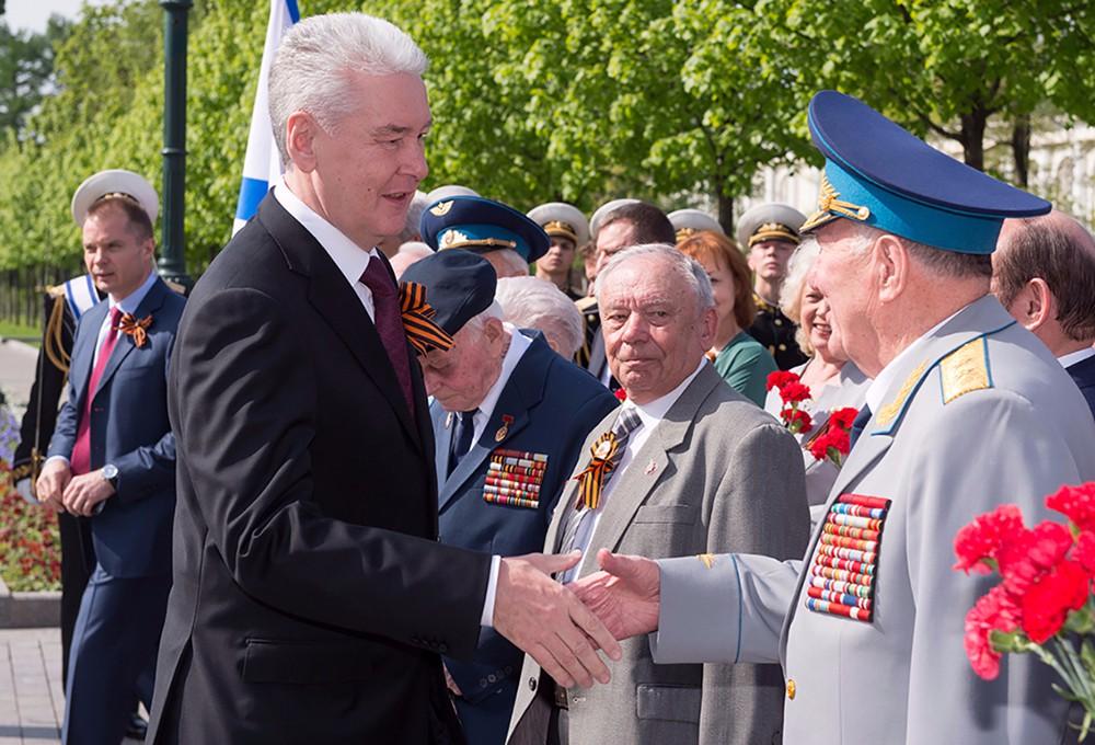 Сергей Собянин и ветераны