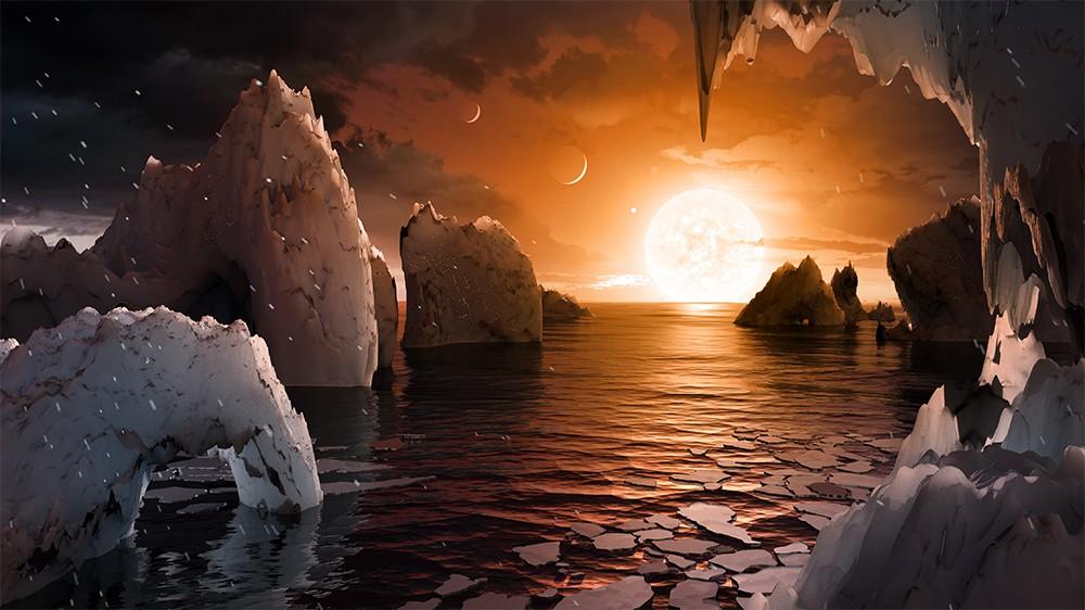 Инопланетный пейзаж