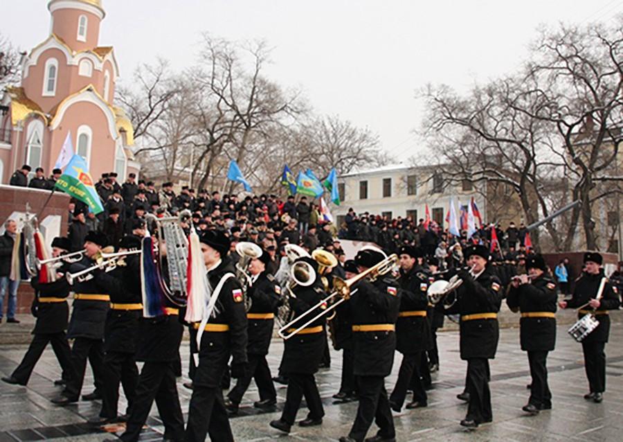 Военный парад во Владивостоке