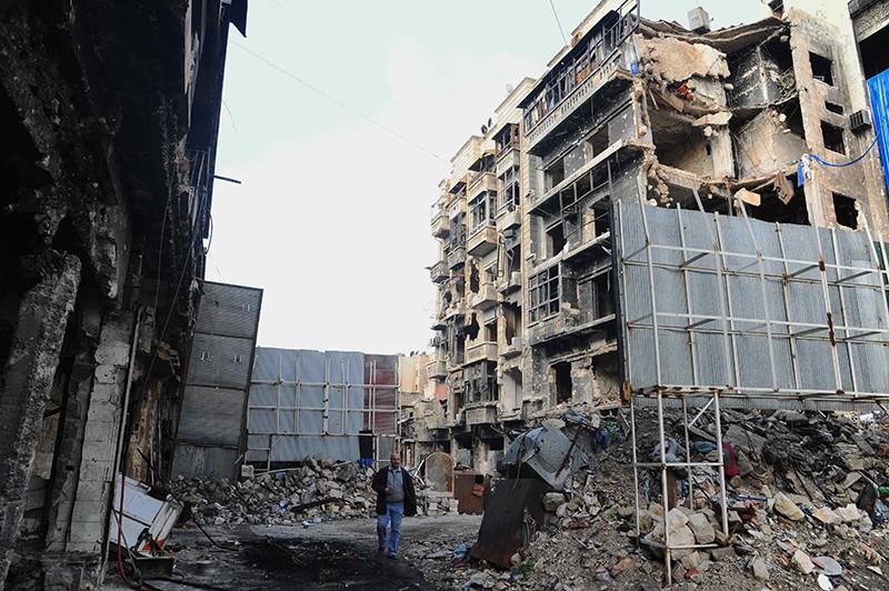 Квартал Алеппо, Сирия