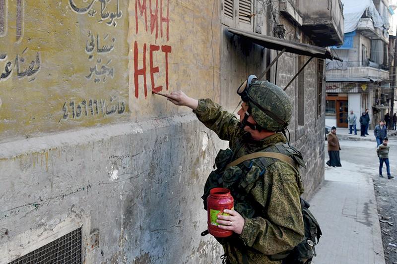 Во время разминирования жилых кварталов сирийского Алеппо