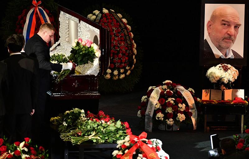 Церемония прощания с актером Алексеем Петренко