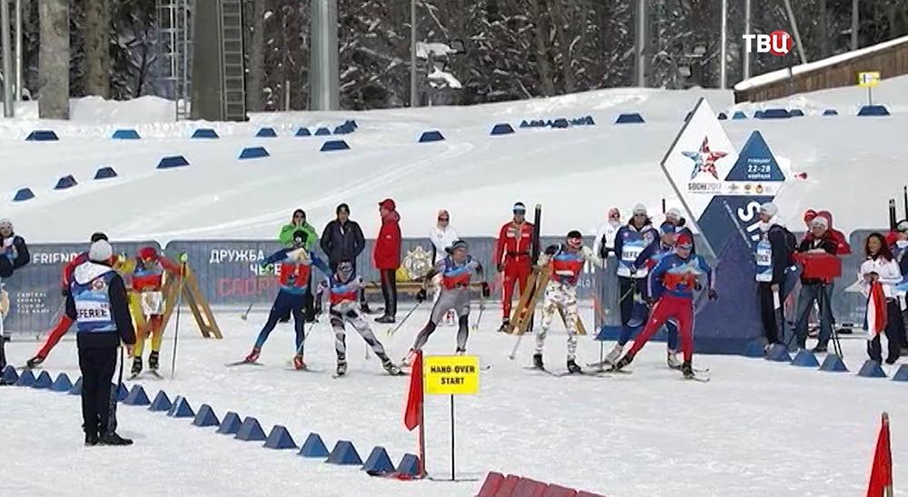 Зимние военные игры в Сочи
